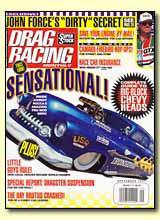 Drag Racing Monthly magazine